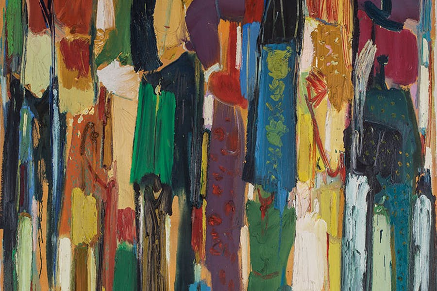Celebrations (detail; 1990), Paul Guiragossian.