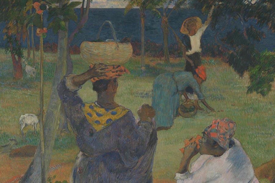 The Mango Trees, Martinique (detail; 1887), Paul Gauguin.