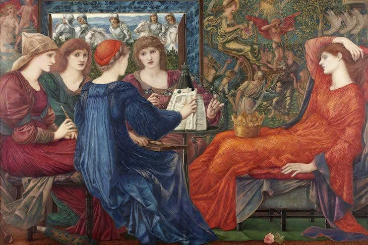 Laus Veneris, Edward Burne-Jones.