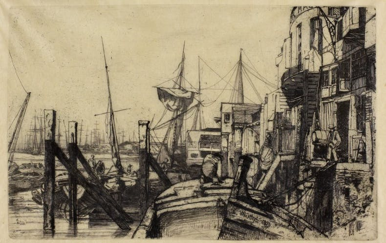 Limehouse, 1859. The Hunterian, University of Glasgow.