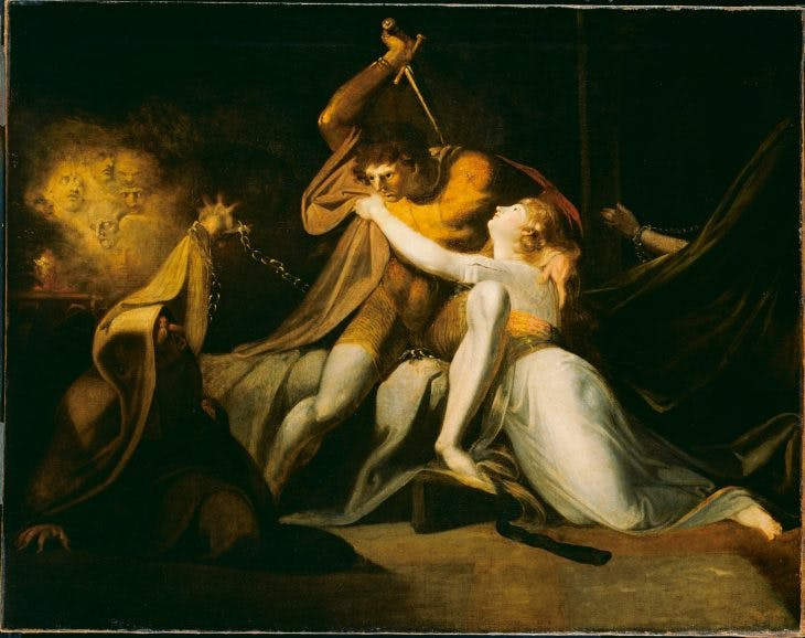 Percival Delivering Bellman from the Enchantment of Urma, Henry Fuseli