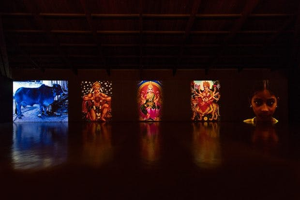 Mother India: Transactions in the Construction of Pain (2005), Nalini Malani, Courtesy the artist; photo: Antonio Maniscalco