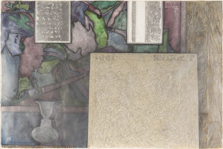 Untitled, Jasper Johns