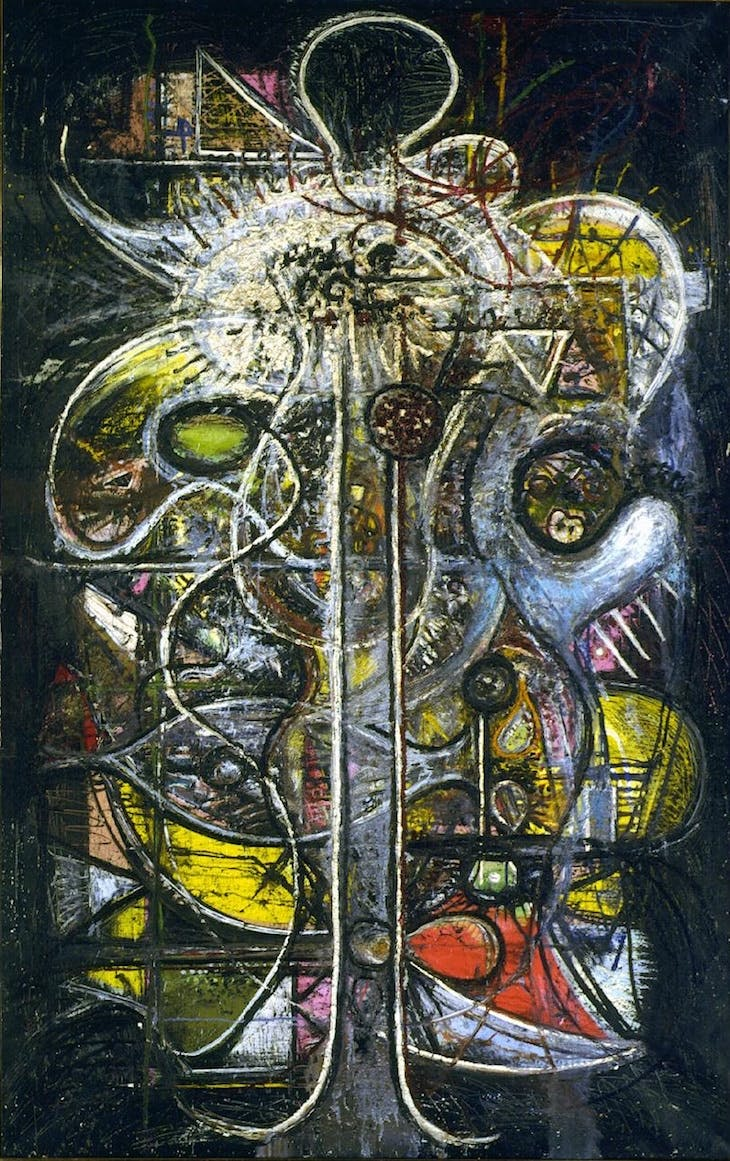 Crucifixion, Comprehension of the Atom, Richard Pousette-Dart