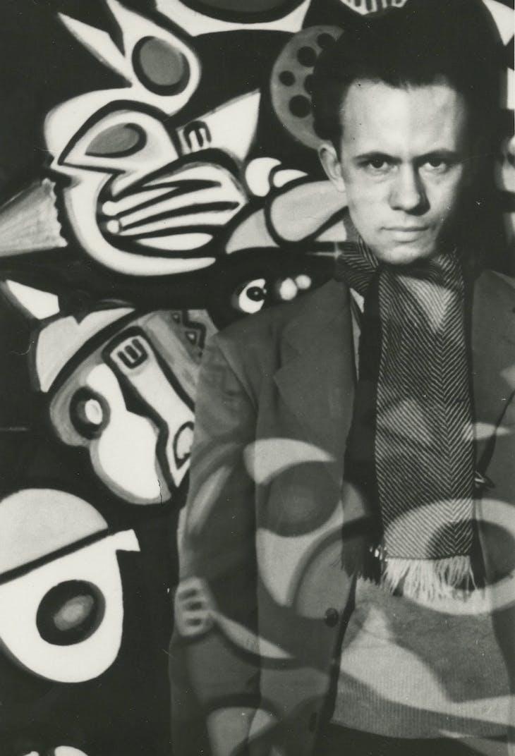 Self-Portrait, Richard Pousette-Dart