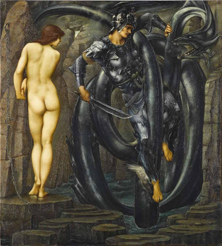 The Doom Fulfilled, Edward Burne-Jones