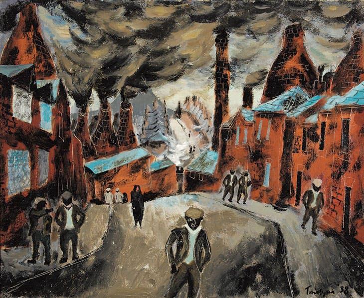 The Potteries (1938), Julian Trevelyan.