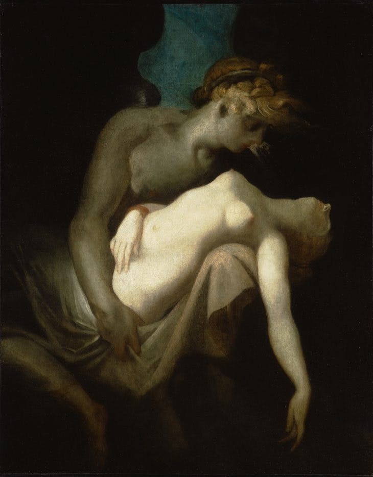 Cupid and Psyche, Henry Fuseli