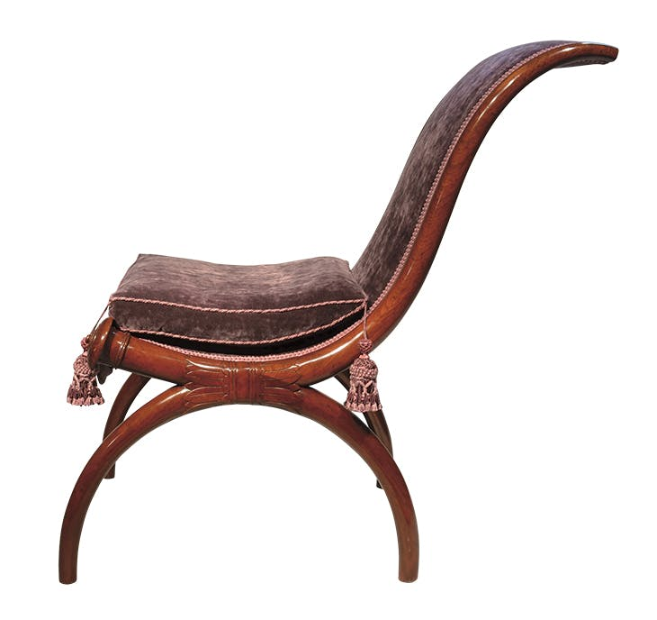 'Etruscan' chair (c. 1790–95), Georges Jacob.