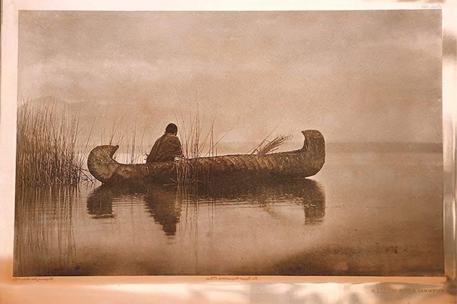 Kutenai Duck Hunter, Edward S. Curtis
