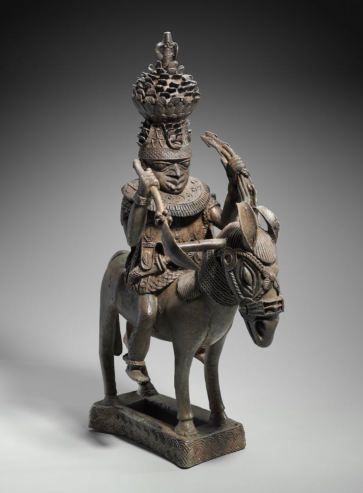 Mounted ruler (so-called horseman), Benin