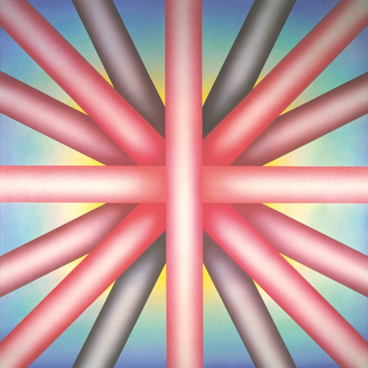 Heaven is for White Men Only (1973), Judy Chicago. © Judy Chicago/Artist Rights Society (ARS), New York