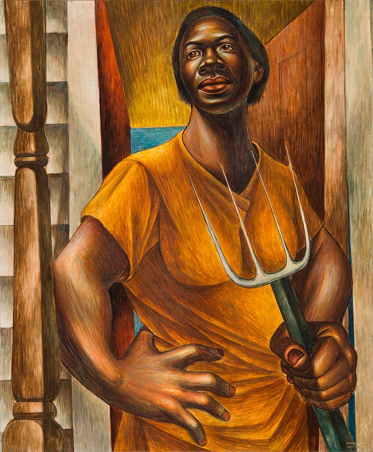Our Land (1951), Charles White.