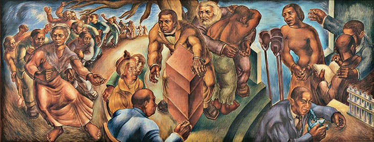 Five Great American Negroes (1939), Charles White. Collection of the Howard University Gallery of Art, Washington, D.C.