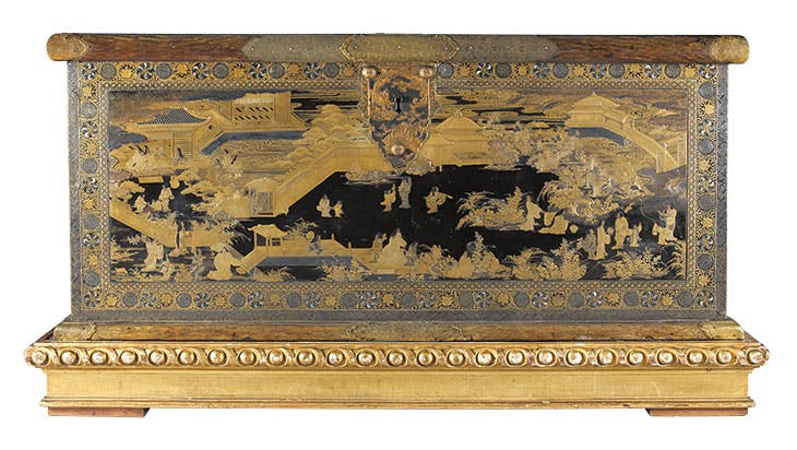 Chest (c. 1635–45), attributed to Koami workshop. Rouillac, €7.31m