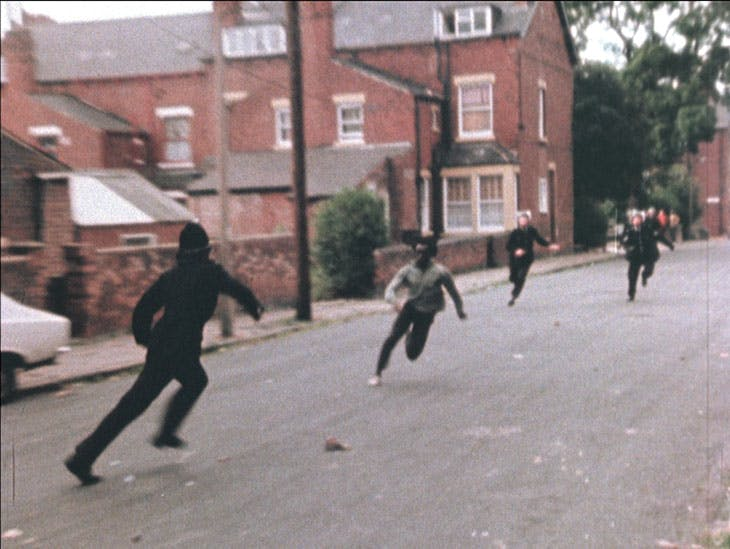 Handsworth (video still; 1986), John Akomfrah.