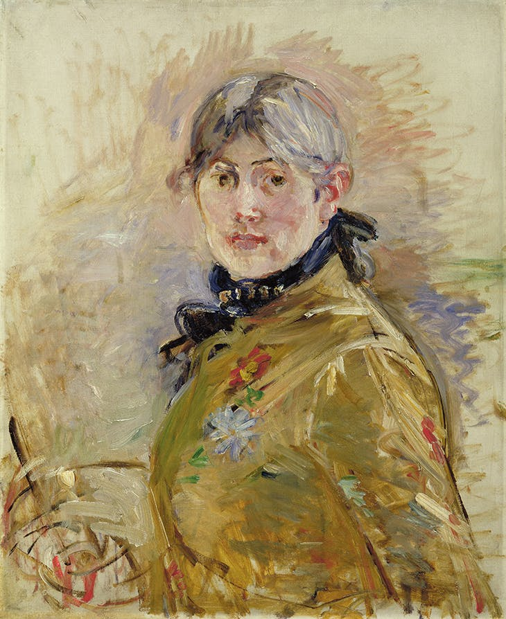 Self-Portrait (1885), Berthe Morisot.