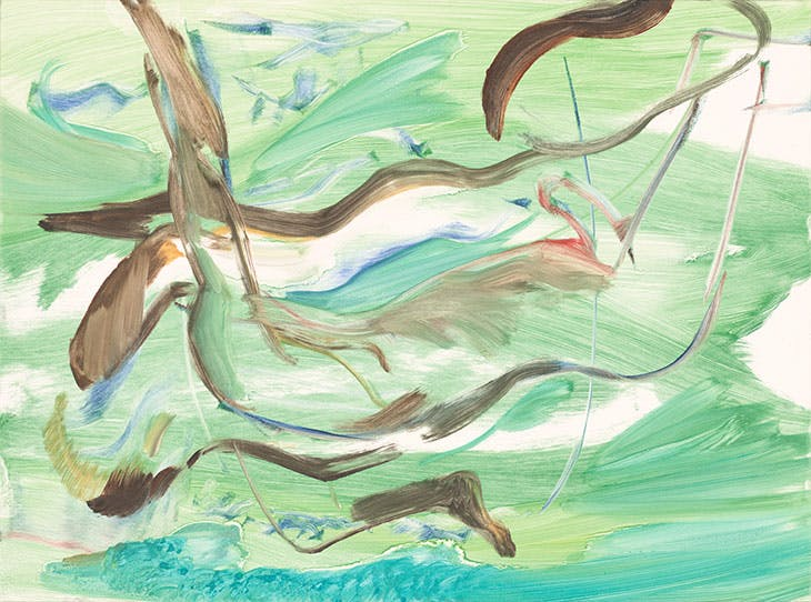 Untitled (2018), Cecily Brown.