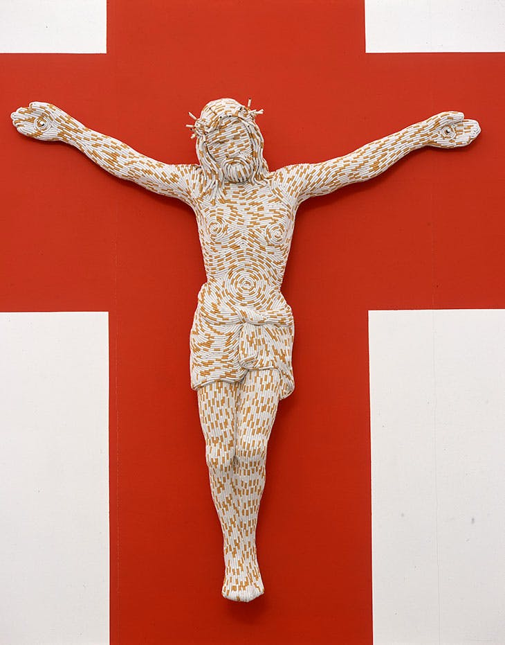 Christ You Know It Ain't Easy (2003), Sarah Lucas.