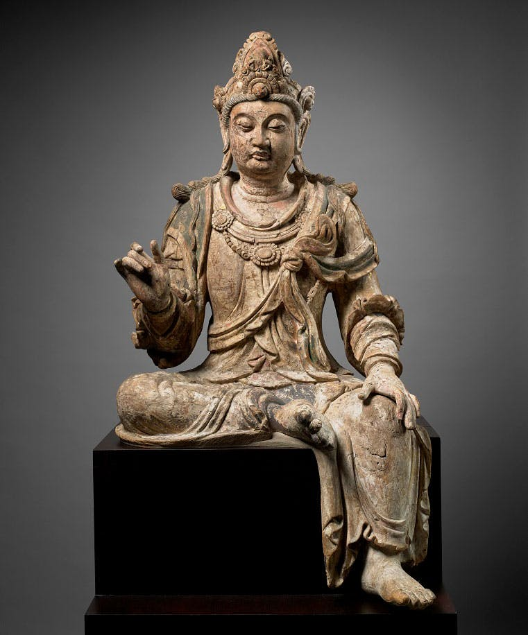 Guanyin, Bodhisattva of Compassion (1050–1150), Chinese, Jin or northern Song dynasty.
