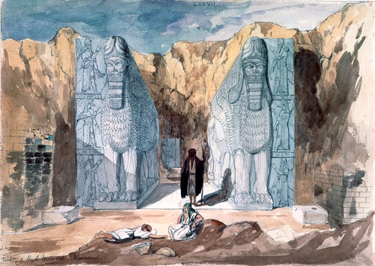 Discovery of Nimrud (mid 19th century), Frederick Charles Cooper.