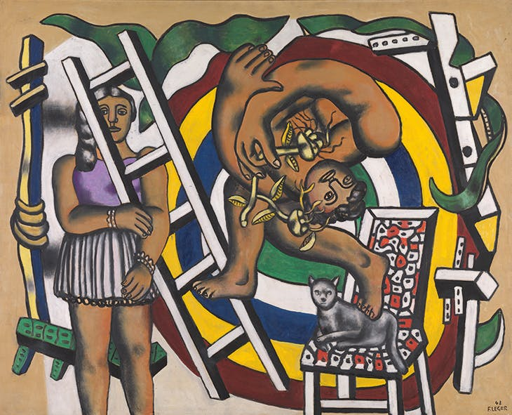 The Acrobat and his Partner, Léger