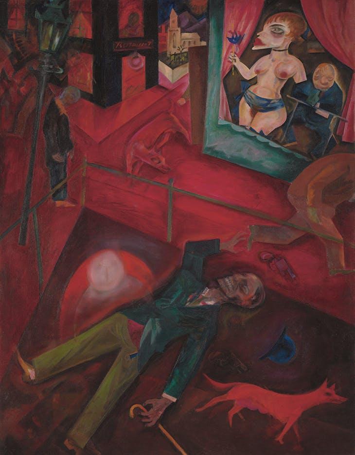 Suicide (1916), George Grosz. Tate, London.