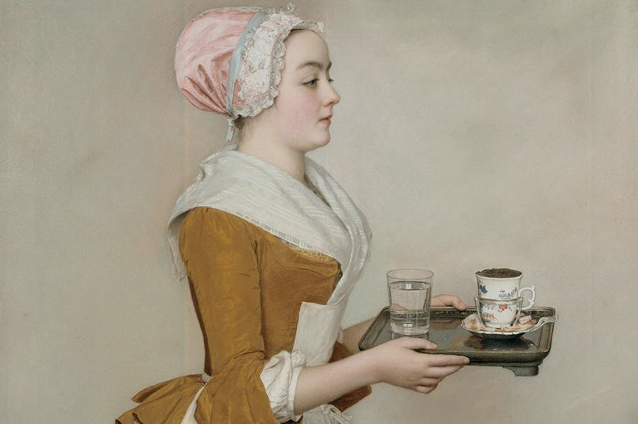 The Chocolate Girl (c. 1744), Jean-Étienne Liotard