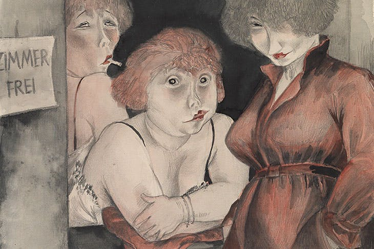 Brüderstrasse (Free Room) (1930), Jeanne Mammen. The George Economou Collection