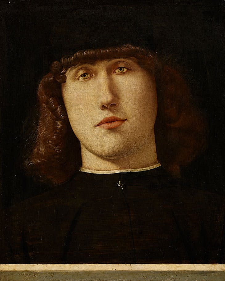 Portrait of a Young Man (c. 1500), Lorenzo Lotto.