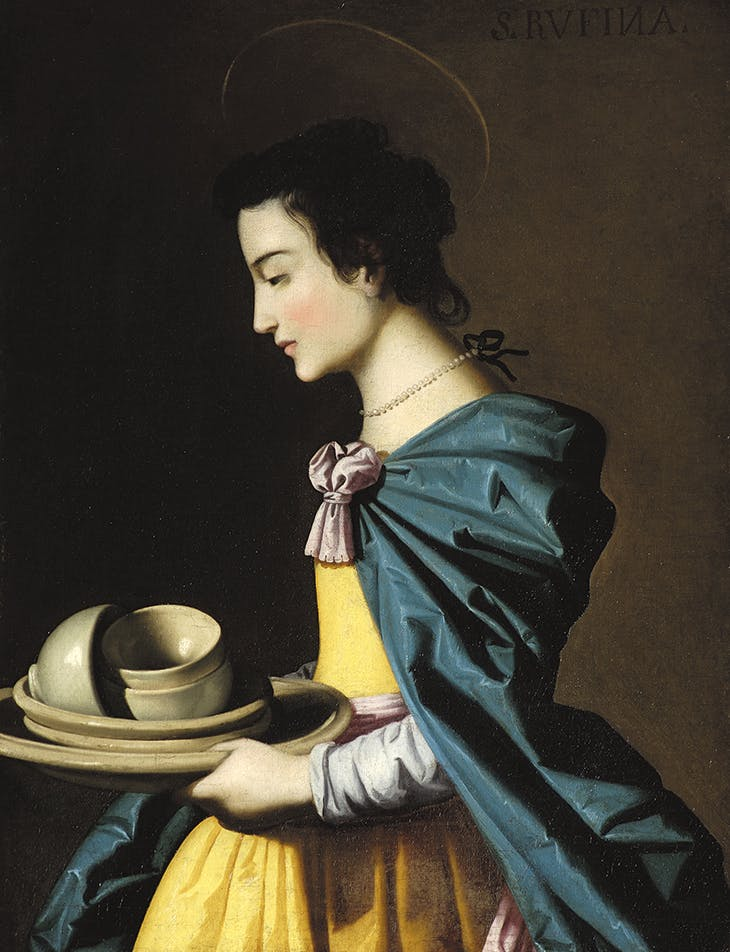 St Rufina (n.d.) studio of Francisco de Zurbarán