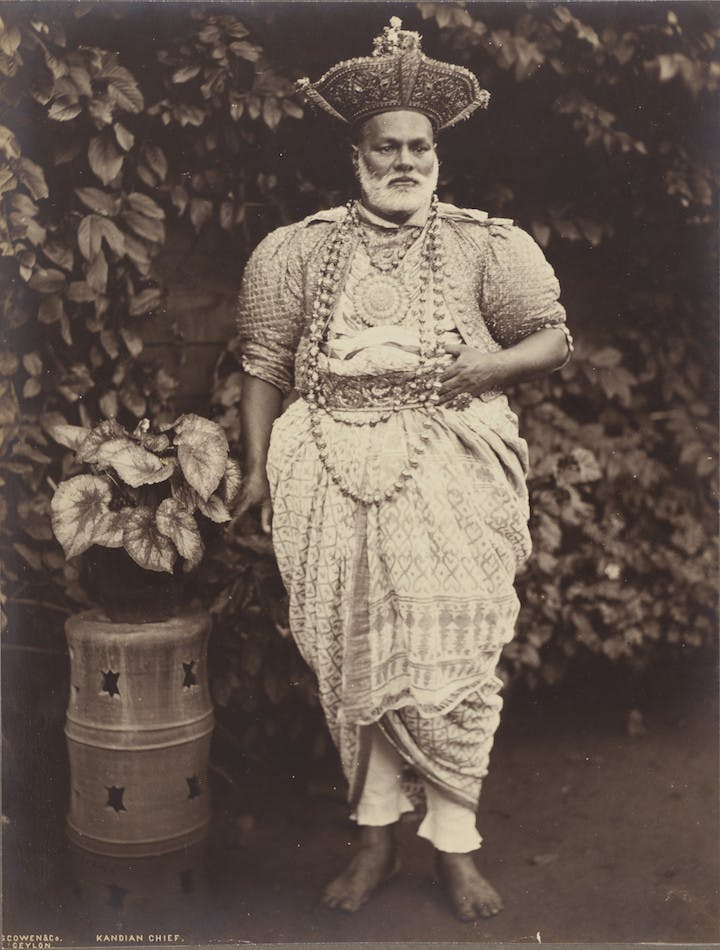 Kandian Chief (c. 1870), Scowen & Co. © Museum Associates/LACMA