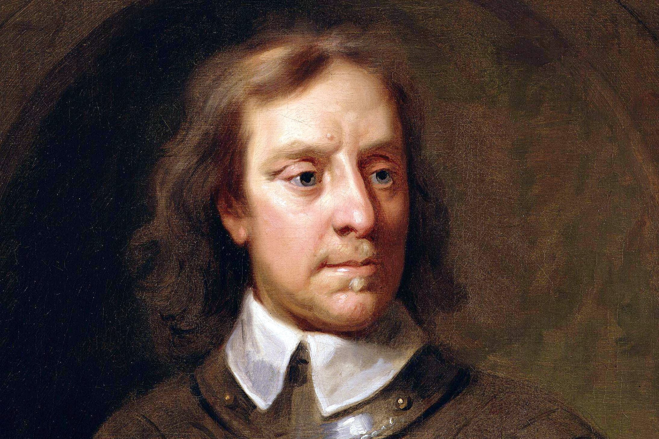 oliver cromwell as you ve never seen him before in his. Black Bedroom Furniture Sets. Home Design Ideas