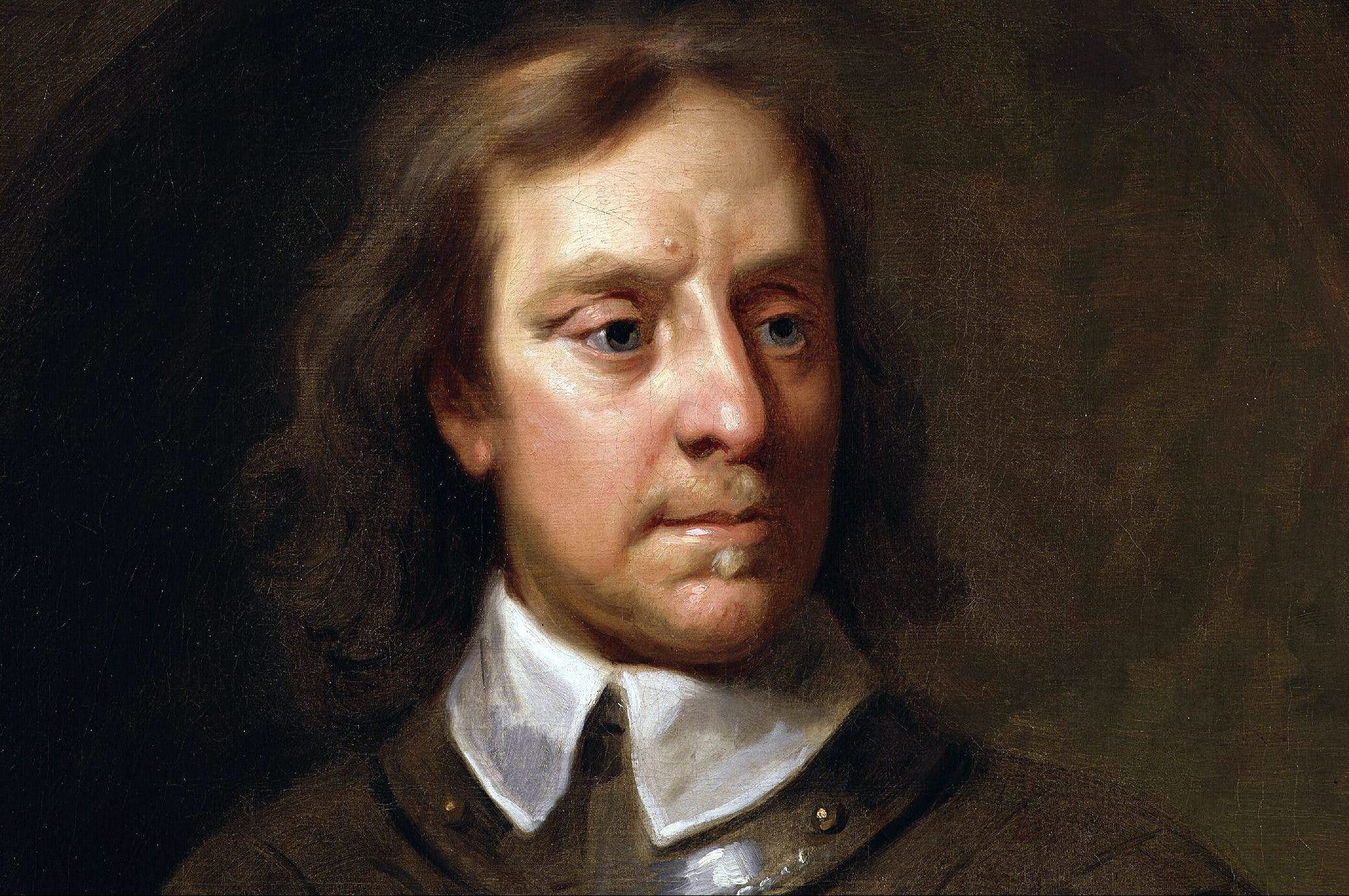 Oliver Cromwell as you've neve...