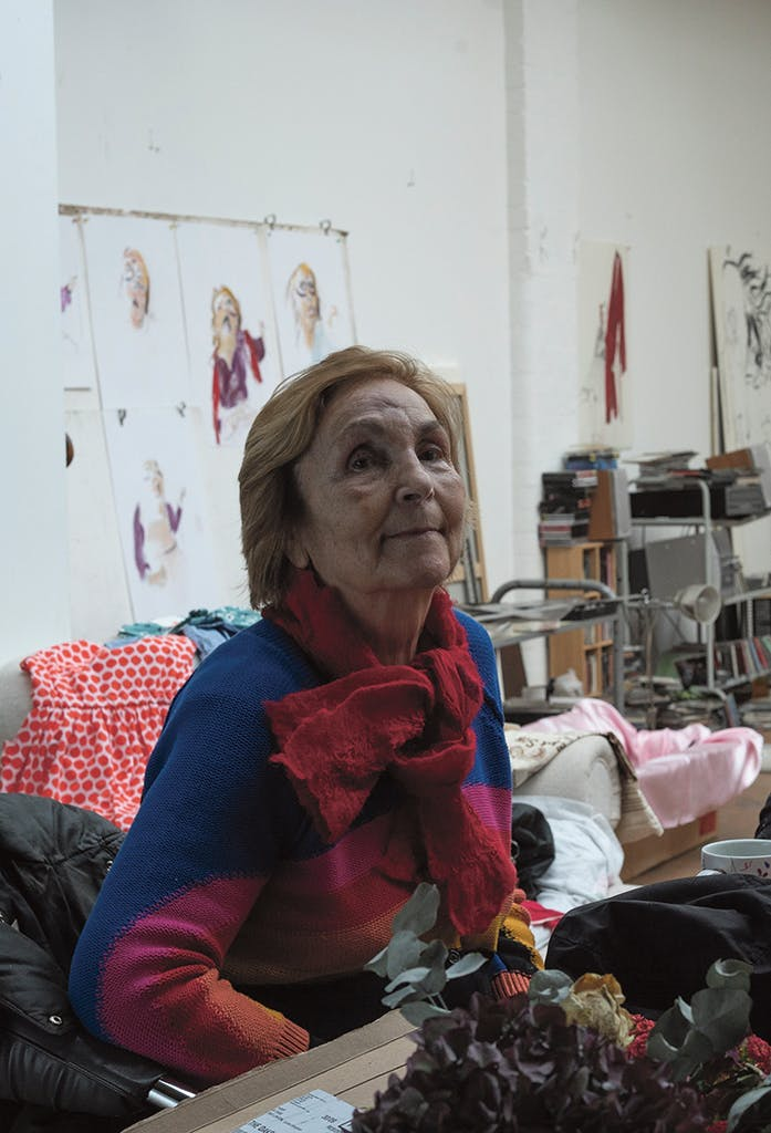 Paula Rego, Photo courtesy Marlborough Fine Art; © Nick Willing