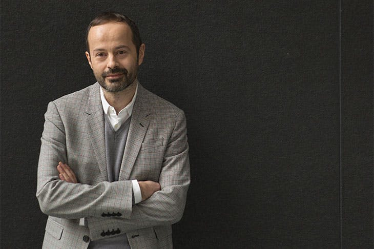 Quentin Bajac, newly appointed director of the Jeu de Paume in Paris.