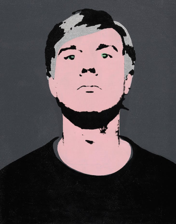 Self-Portrait, Warhol