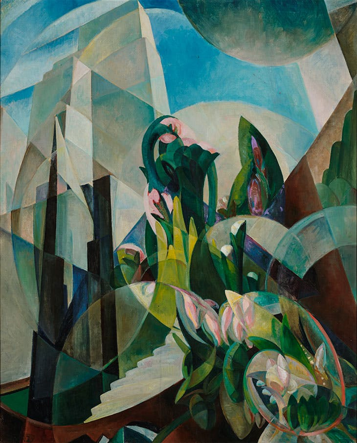 The White Tower (c. 1926), Mary Swanzy. Private collection