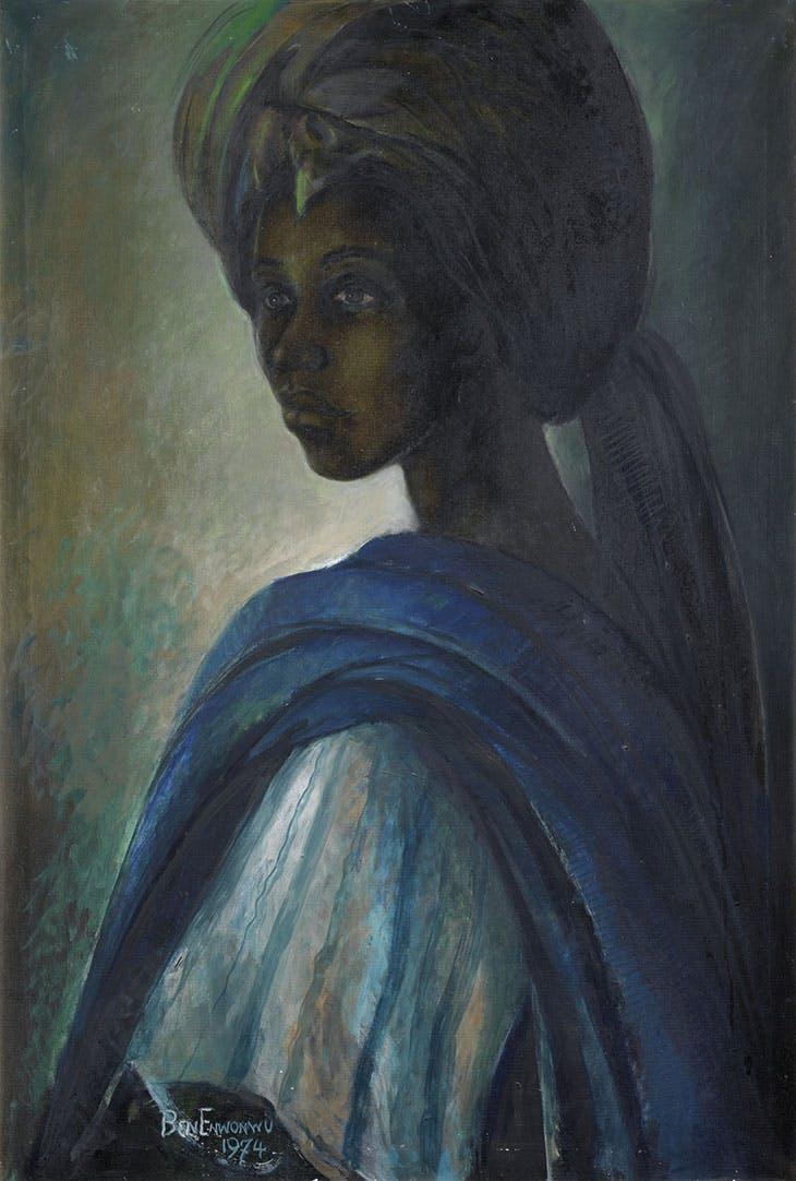 Tutu (1974), Ben Enwonwu. Courtesy Bonhams