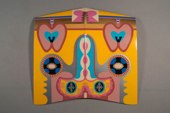 Bigamy Hood (1965/2011), Judy Chicago. © Judy Chicago/Artist Rights Society (ARS), New York; Photo © Donald Woodman/ARS NY