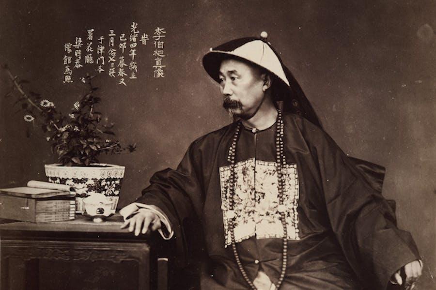 Li Hongzhang (1875), Liang Shitai. Courtesy the Loewentheil Collection
