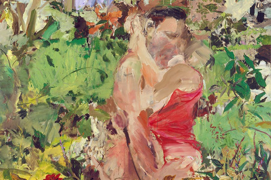 Couple (2004), Cecily Brown.