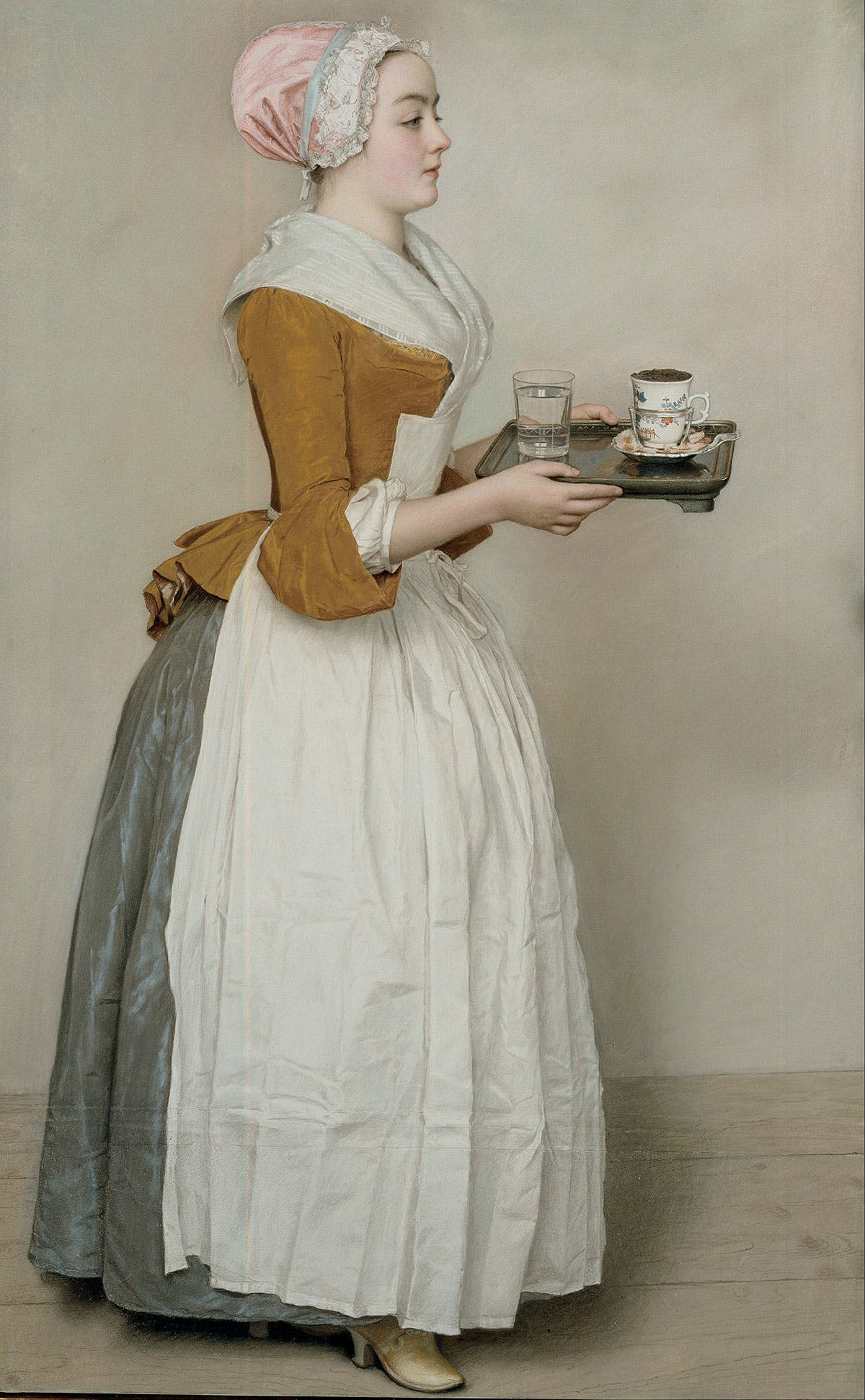 The Chocolate Girl (c. 1744), Jean-Étienne Liotard