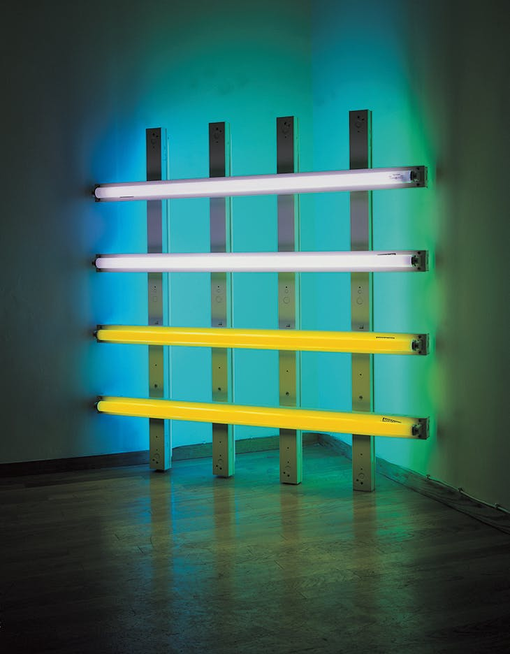 Untitled (in honor of Harold Joachim) 2 (1977), Dan Flavin. Collection FRAC Grand Large – Hauts-de-France, Dunkerque.