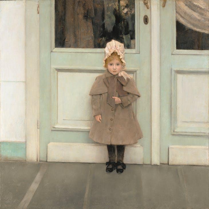 Jeanne Kéfer (1885), Fernand Khnopff. J. Paul Getty Museum, Los Angeles