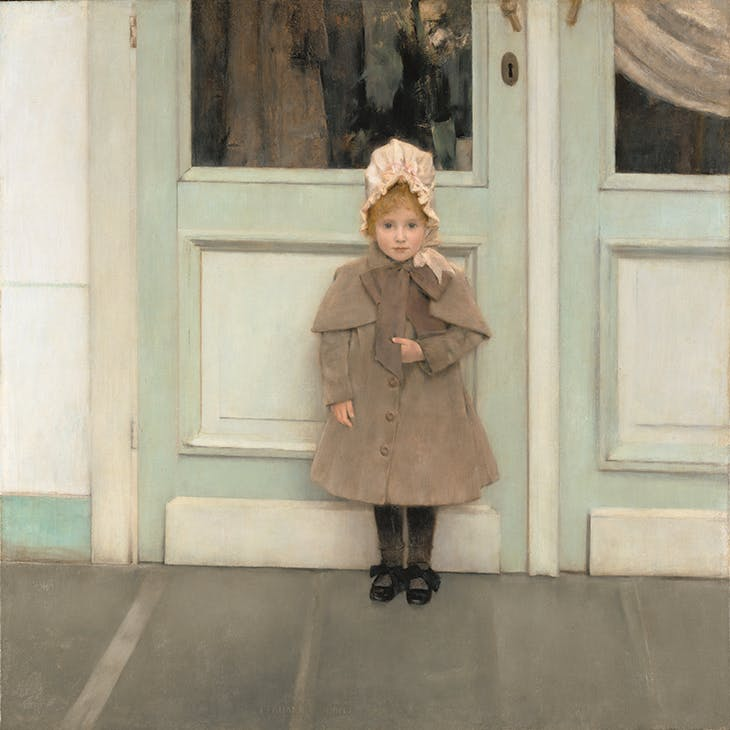 Jeanne Kéfer (1885), Fernand Khnopff. J. Paul Getty Museum, Los Angeles