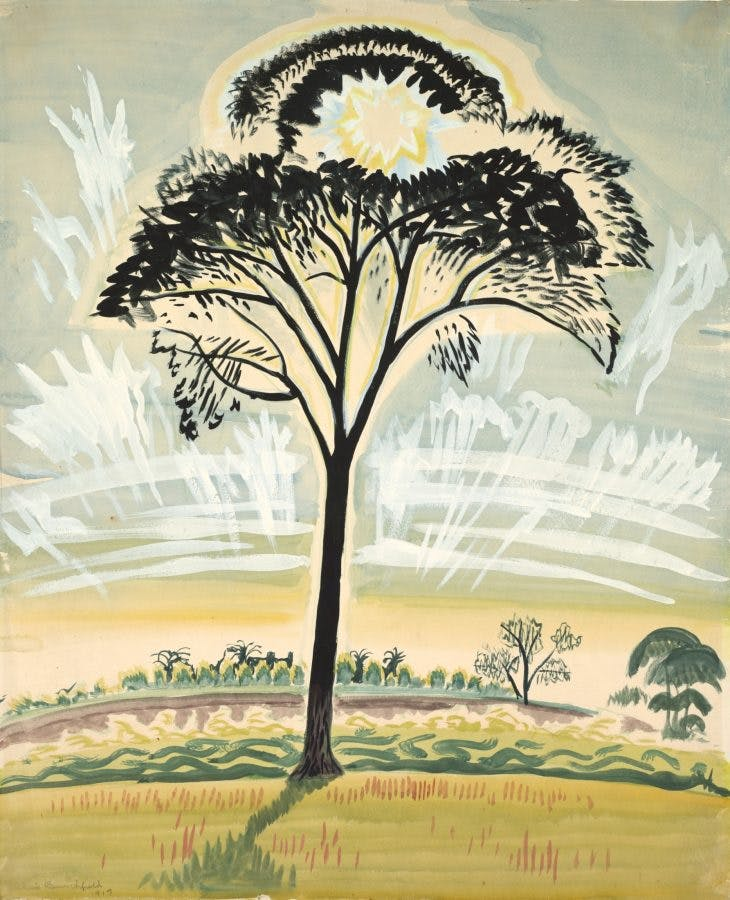 The Sun through the Trees, Charles Burchfield