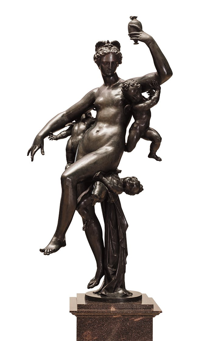 Psyche, Carried by Cupids, Adriaen de Vries