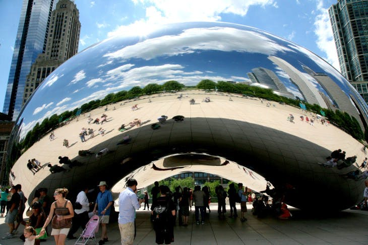 Cloud Gate (2006), Anish Kapoor