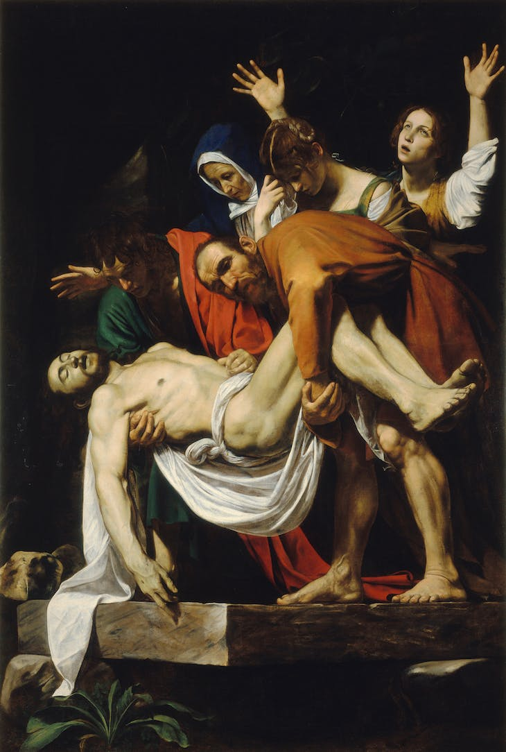 The Entombment of Christ, Caravaggio